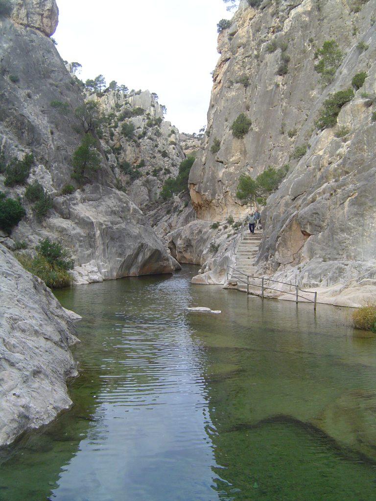 Fontcalda zona per banayar-se Riu Estrets